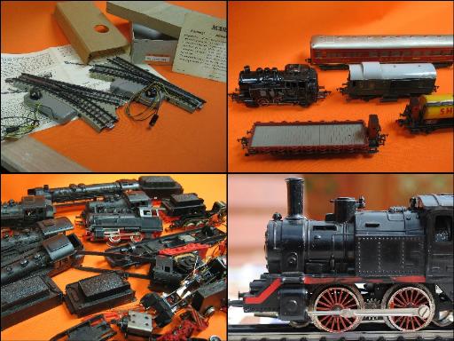 Ankauf von | Modelleisenbahnen | Gleise | Wagons | Lokomotiven