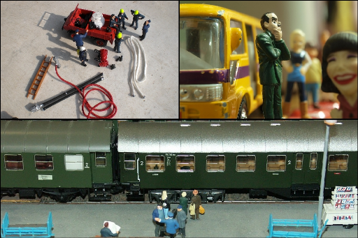 Verkauf von | Modelleisenbahnzubehör | Figuren | Bahnhöfen